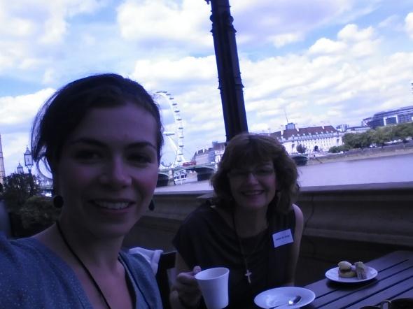 cream tea selfie!